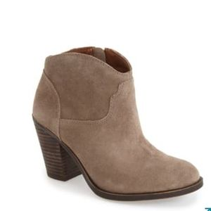 "Lucky Brand ""Eller"" ankle boot in ""Brindle"" EUC!"